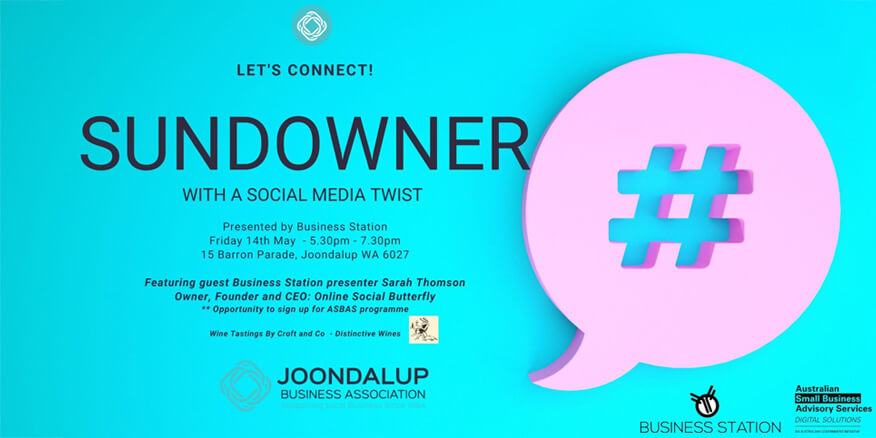 Business Station sundowner with a social media twist