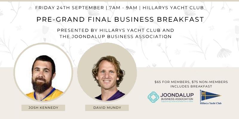 Pre-Grand Final Business Breakfast