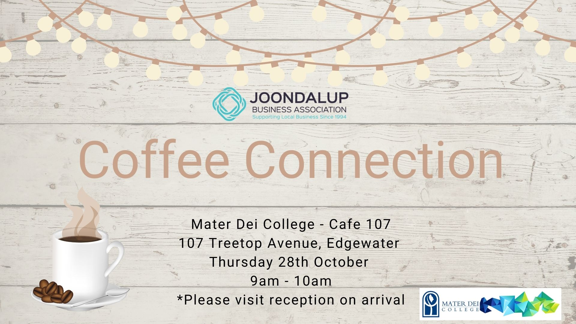 Coffee Connection - Mater Dei College