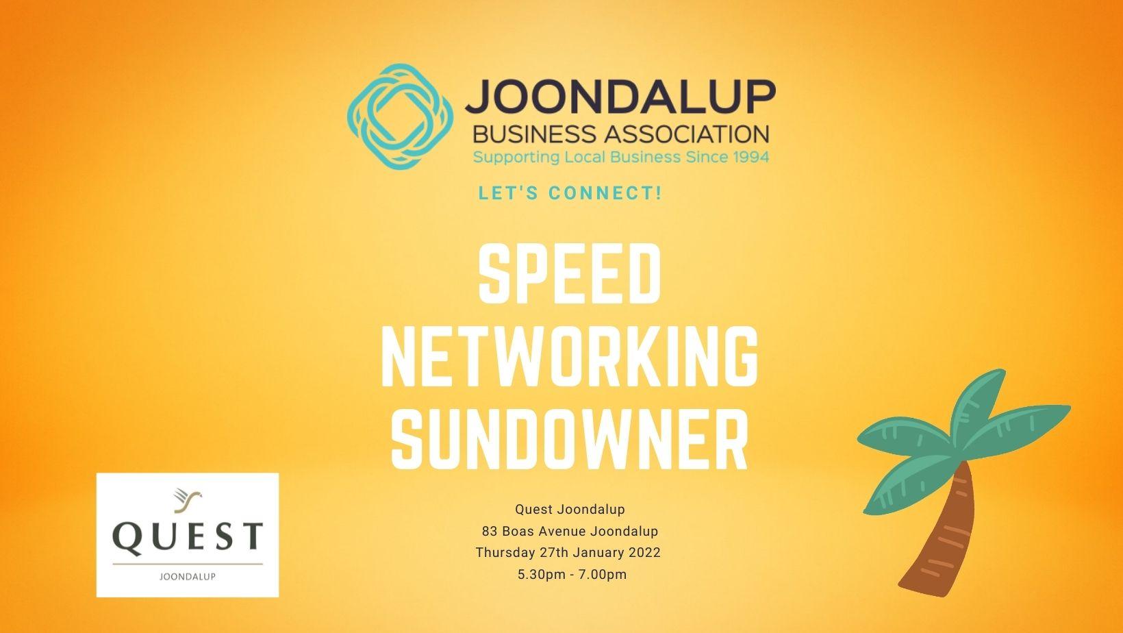 Speed Networking Sundowner - Quest Joondalup